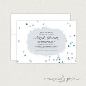 Cards Baby Shower Invitations Page 1 Especially Yours Designs