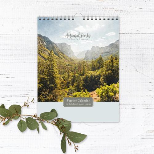 National Parks Perpetual Calendar | Forever Calendar