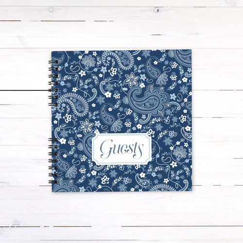 Paisley Guest Book