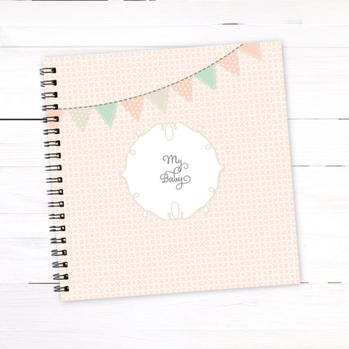 Baby Book for Little Girls | Pastels