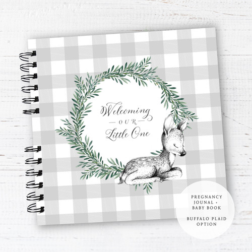 Pregnancy Journal + First Year Baby Book | READY TO SHIP