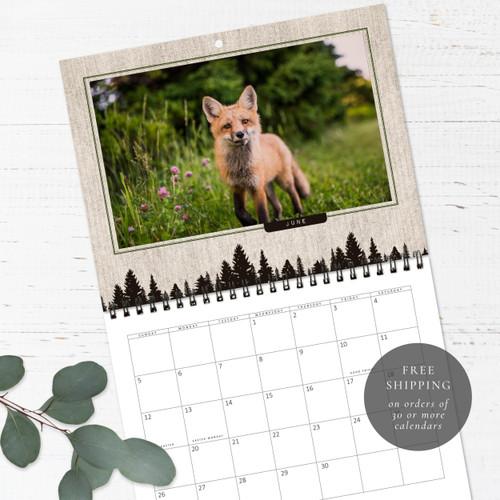 Wildlife Birthday Calendar   Congregational or Family Birthday Calendar