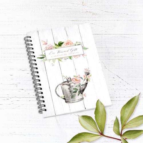 Spring Garden Lined Notebook/Journal