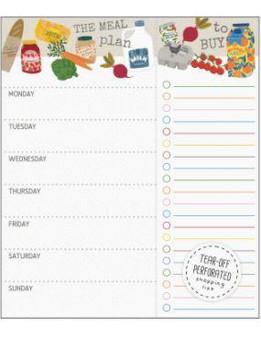 GD Meal Planner Pad