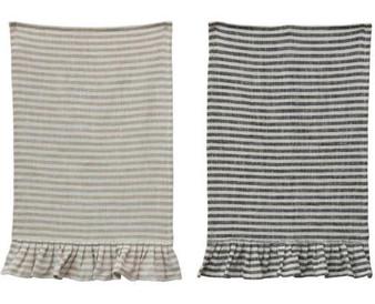 CRC Ruffled Tea Towel