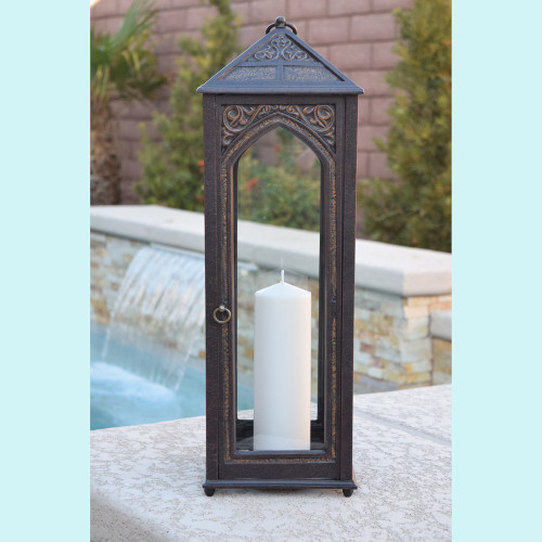 "Hurricane Lamp 23.6"" Tall"