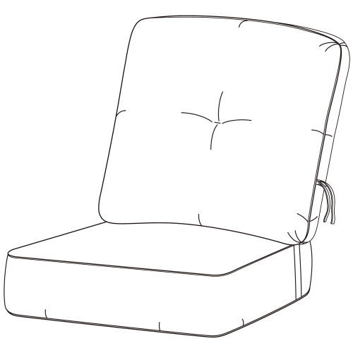 Hanamint Estate Club Chair Cushion #694184