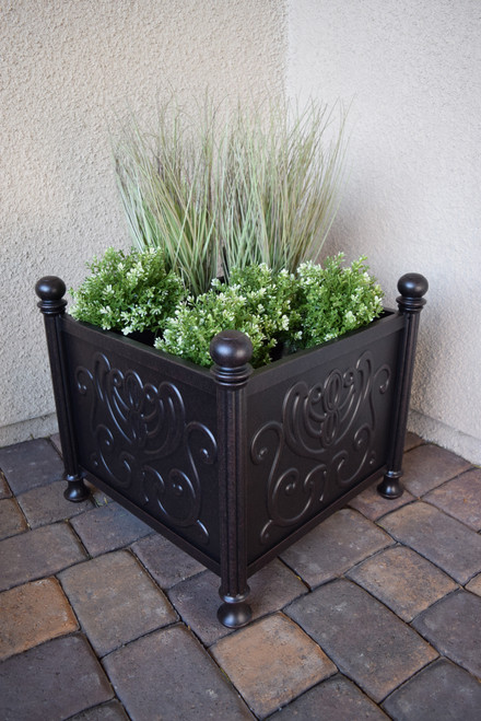 "Tuscany 18"" Square Planter Box"