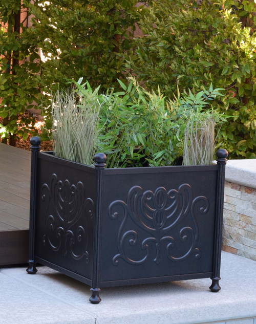 "Tuscany 24"" Square Planter Box"