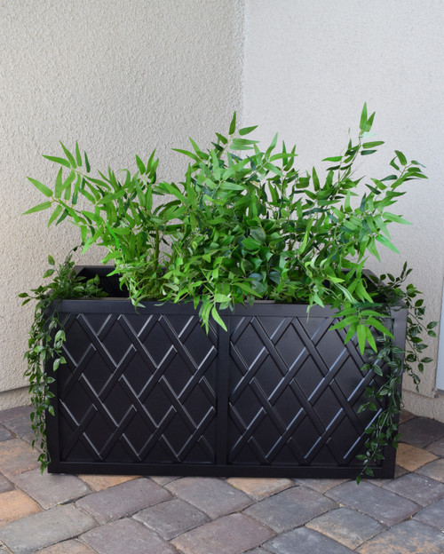 "Lattice 18"" x 36"" Planter Box"