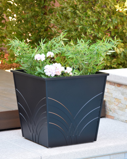 "Palm 24"" Square Planter Box"