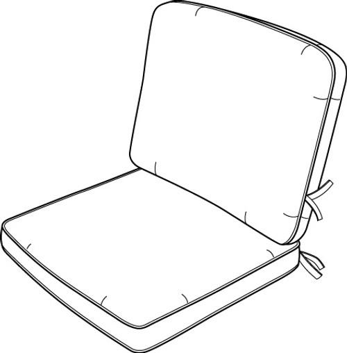 Hanamint  Club Chair Cushion #694096