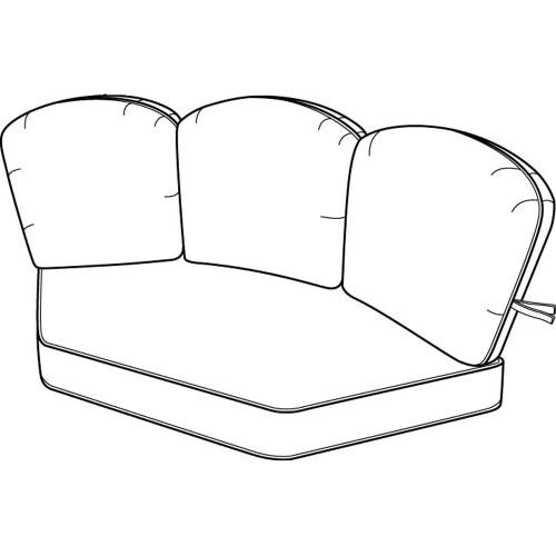 Hanamint Standard Corner Cushion #694099