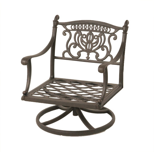 Grand Tuscany Club Swivel Rocker