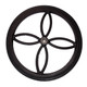 Replacement Wheel for Chaise or Tea Cart