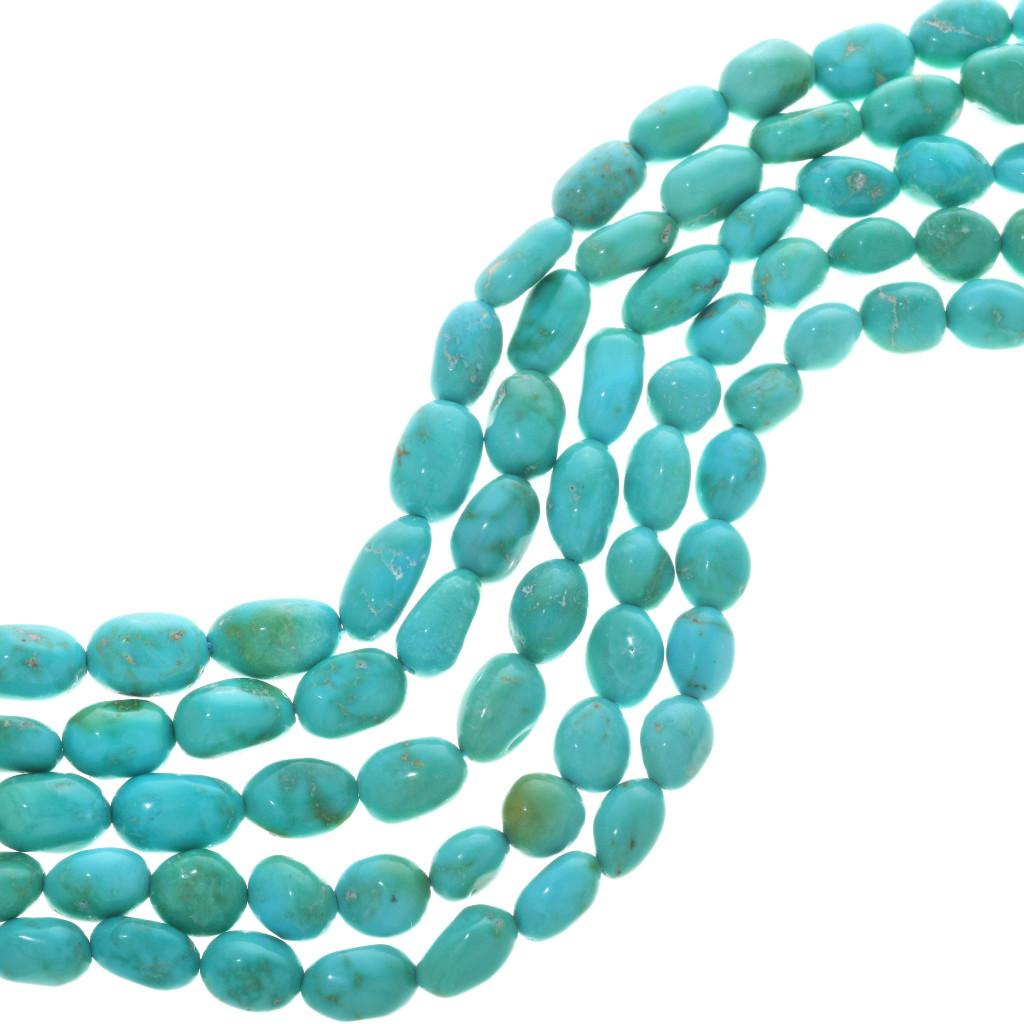 Rare Natural Kingman Turquoise Loose BeadsLight Blue wMatrixArizona turquoise Natural drilled nuggetsGenuine 100/% NaturalNLBM-3.5