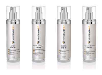 What does it take to be called VanguardMD Sunscreen?