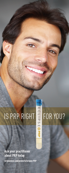MKTG_Eclipse PRP® - Male Pull-Up Lobby Banner