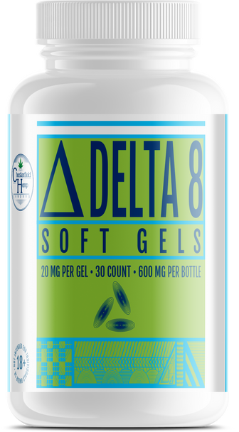 Chesterfield Hemp Co Delta 8 Soft gels 30 Count 600mg