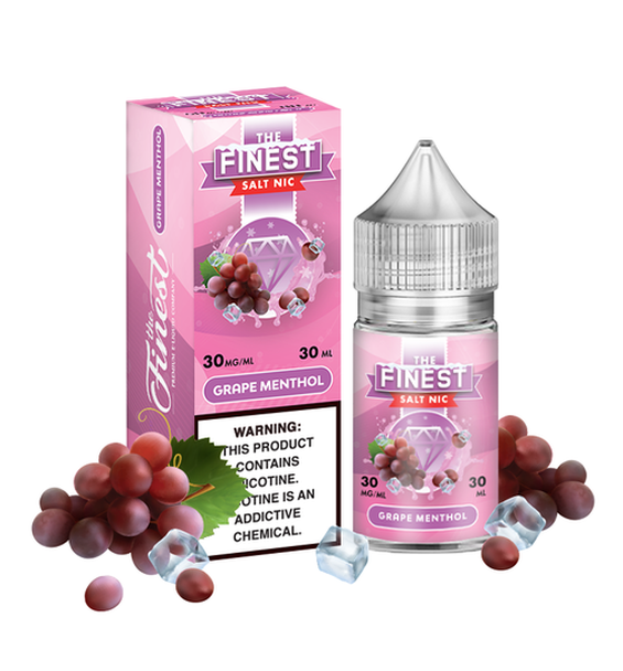 Finest Salt: Grape Menthol 30ml