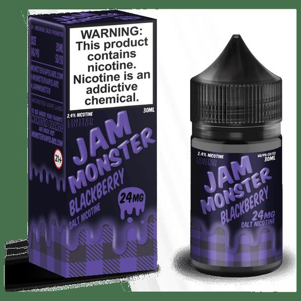 Blackberry Jam Monster Salt Nic 30ml