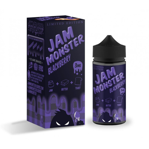 JAM MONSTER EJUICE BLACKBERRY 100ML