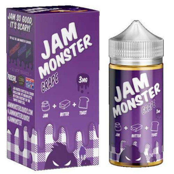 JAM MONSTER EJUICE GRAPE 100ML