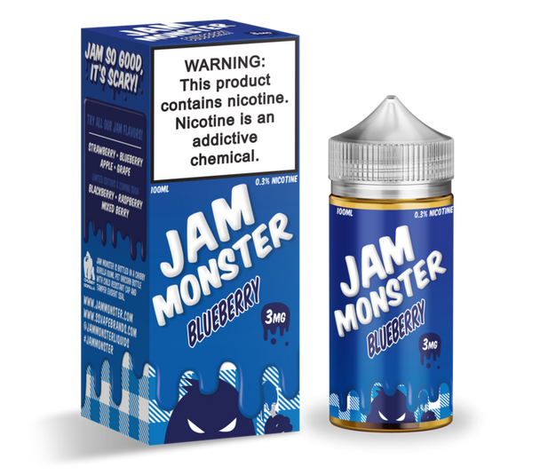 JAM MONSTER EJUICE BLUEBERRY 100ML