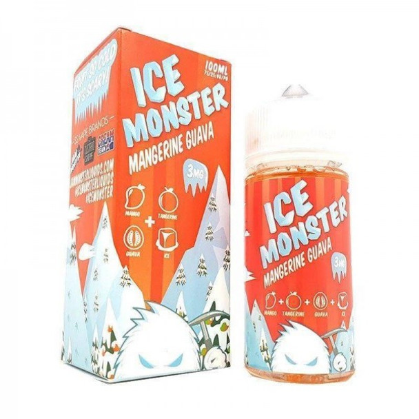 JAM MONSTER ICE MANGERINE GUAVA 100ML