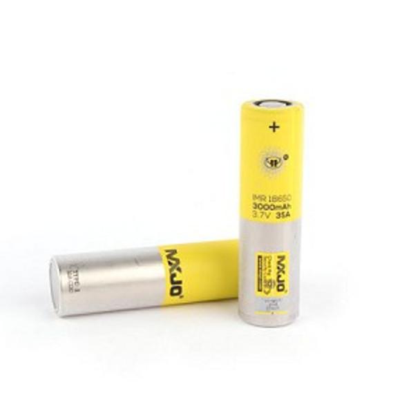 MXJO IMR 18650 3000 MAH batteries