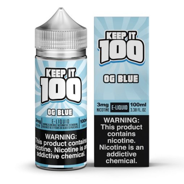 Keep it 100 - OG Blue (Blue Slushie) 100ml