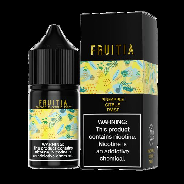 Fruitia - Pineapple Citrus Twist 30ml Salt Nic E-liquid