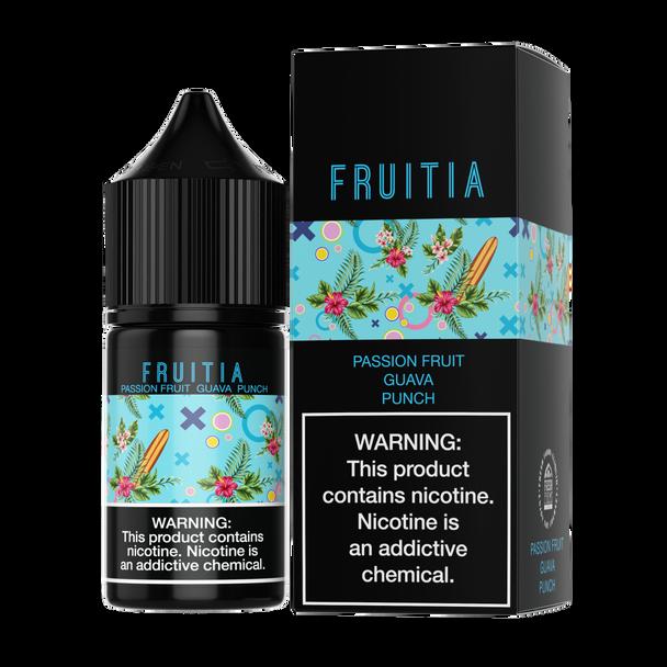 Fruitia - Passion Fruit Guava Punch 30ml Salt Nic E-liquid