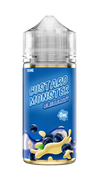 Custard monster blueberry 100ml eliquid