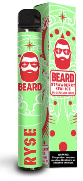 Beard - Ryse 1000 Puff disposable strawberry kiwi ice 5.0% 3.5ml