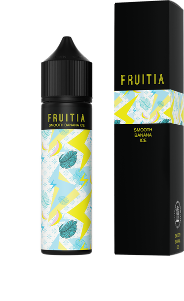 Fruitia - Smooth Banana Ice 60ml E-liquid