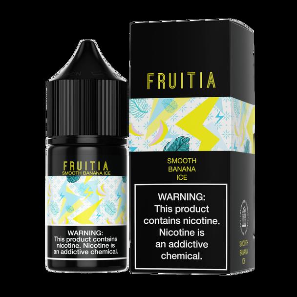 Fruitia - Smooth Banana Ice 30ml Salt Nic E-liquid