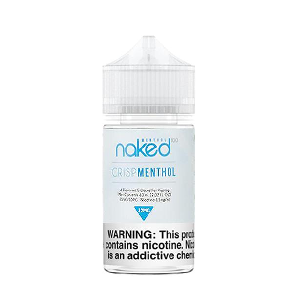 Naked100 Crisp Menthol 60ML