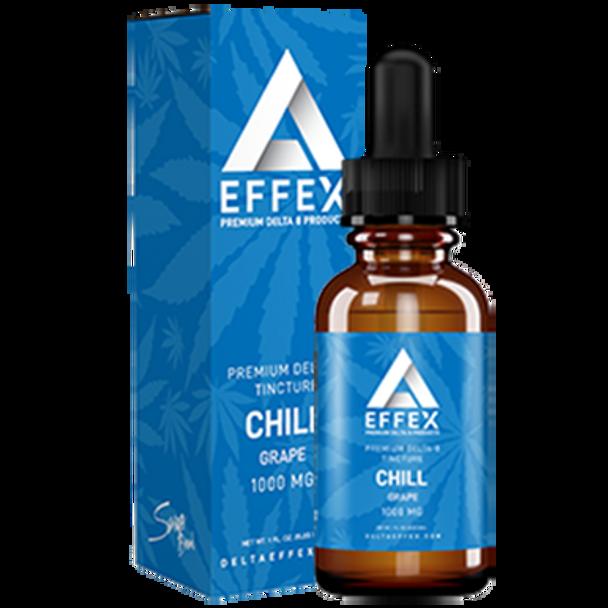 Delta EFFEX D8 Tincture - Chill - Grape 1000mg 30ml