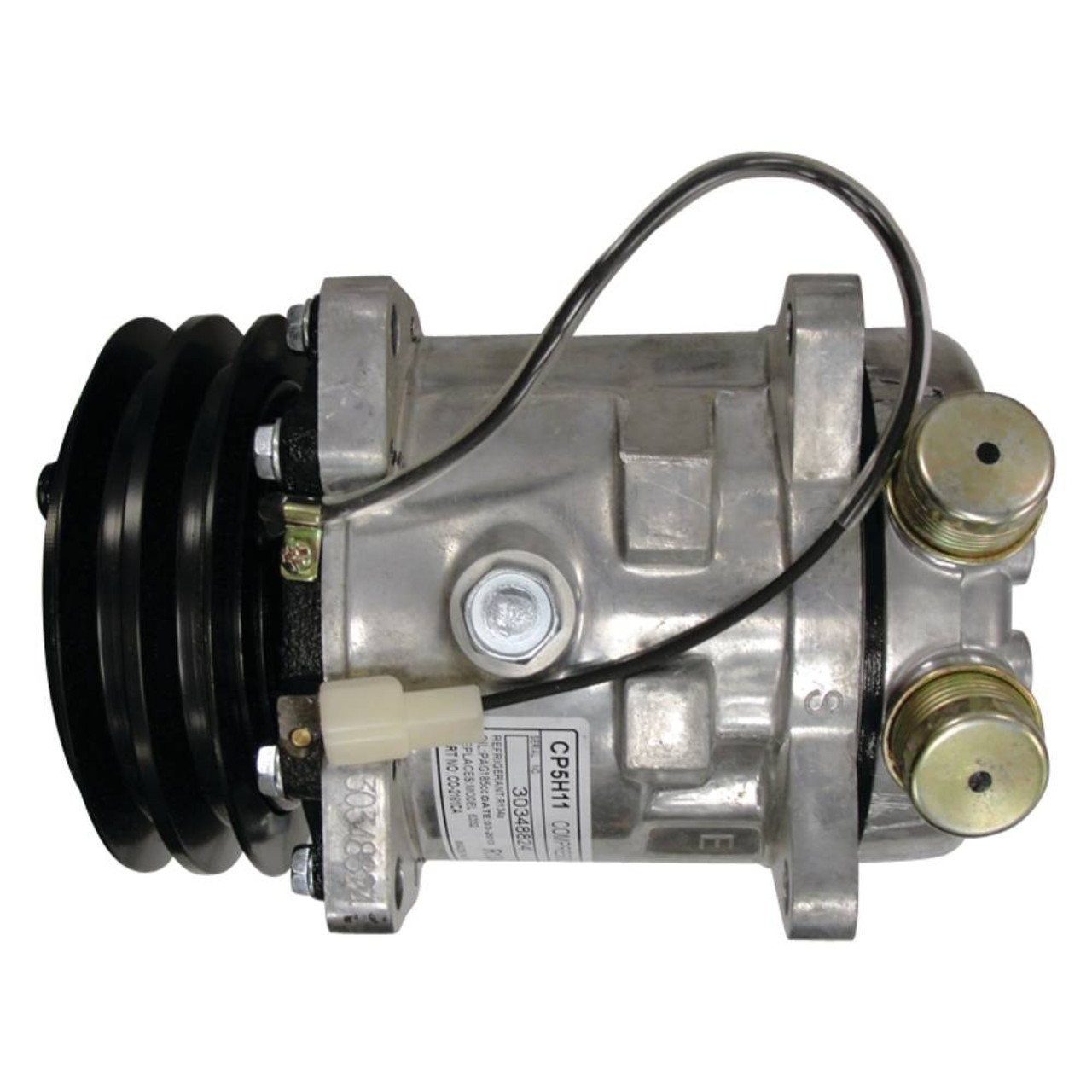 New A C Compressor For Ford New Holland Tn55D, Tn55S, Tn60Da, Tn60Sa
