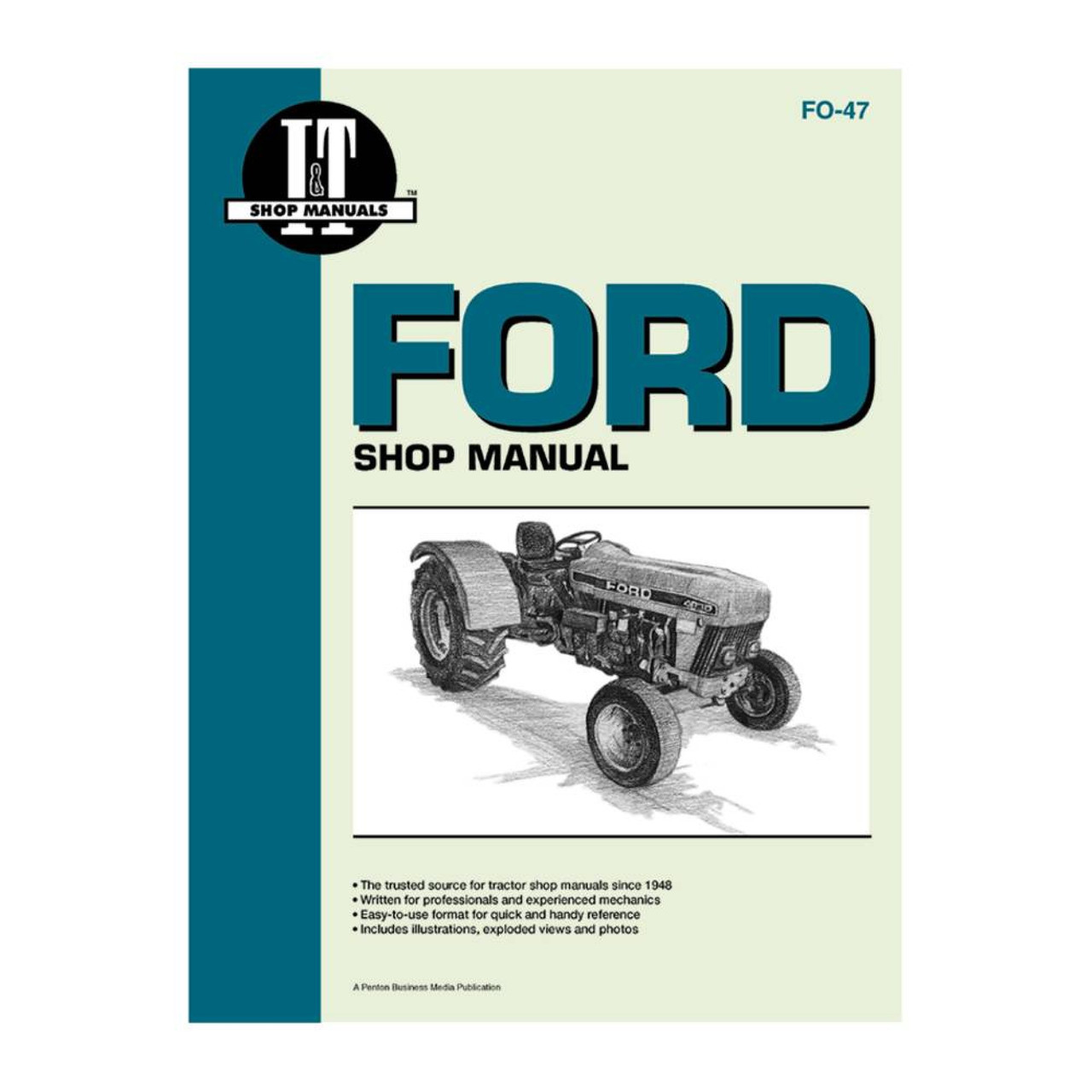 New Service Manual For Ford New Holland Tractor 3230 3430 3930 4630 on