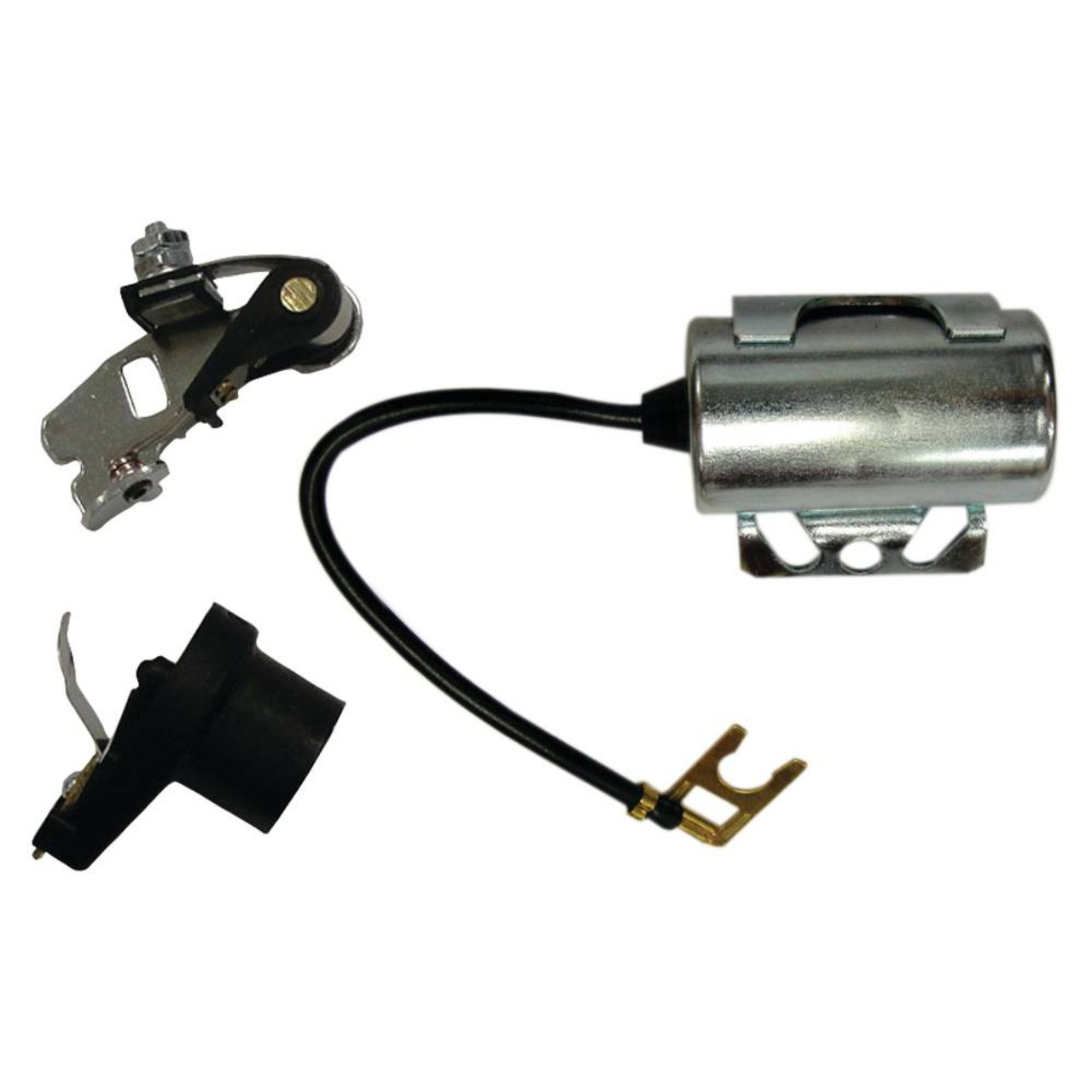 Black Complete Tractor 1400-5058 New IGN kit for John Deere 1010 2010 inc. Points condensor Rotor
