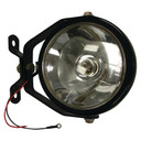 Work Lamp Black 12v 55 watt with on/off switch and handle