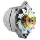"""Alternator Tractor 1-Wire 10SI 63 Amp with Thin 1/2"""" Pulley"""
