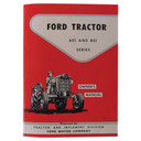Owners Manual for Ford Holland Tractor 601 801