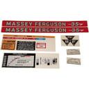 DECAL SET For Massey Ferguson 35 C1215-1030T