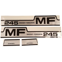 DECAL SET For Massey Ferguson 245 C1215-1051T