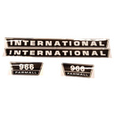 DECAL SET For Case/International Harvester 966 C1715-2071T