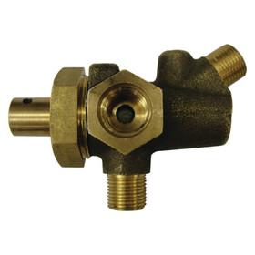 John Deere 3 Way Brass Fuel Valve A AR AO B D H G Check serial AB2805R