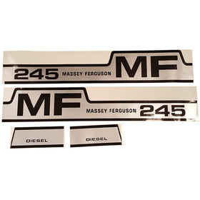 DECAL SET For Massey Ferguson 245 C1215-1051T